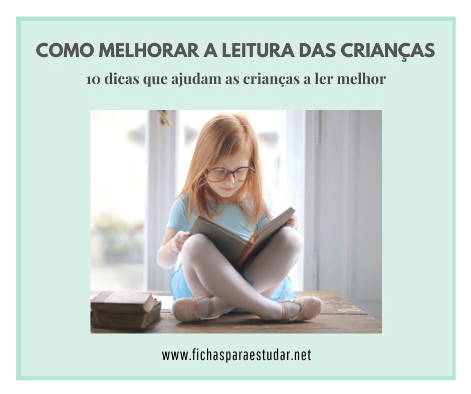 como ajudar as crianças a ler melhor